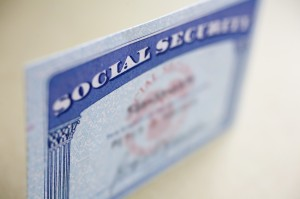 Social Security Disability (SS Card) used for the law offices of edward r. scheine
